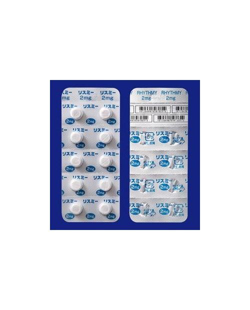 """Shonogi"" RHYTHMY Tablets 2mg x 60 tab"