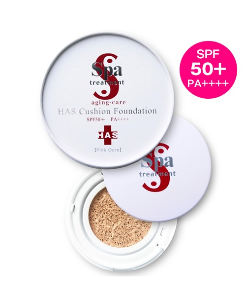 Spa Treatment HAS Cushion Faundation SPF 50+ PA ++++ 12g Ohre/Pink Ohre