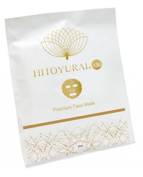 HITOYURAI+30 Premium Face Mask 20ml x 5 sheets
