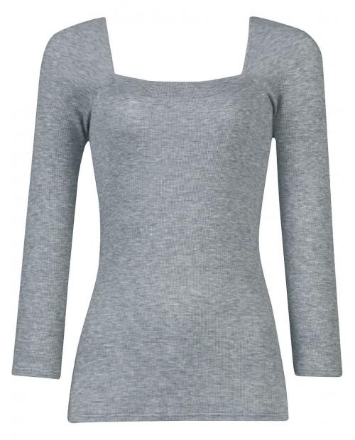 Wacoal_knit [Skin beauty strike Hot] Moisturizing top using regenerated collagen fiber (9-minute sleeves)