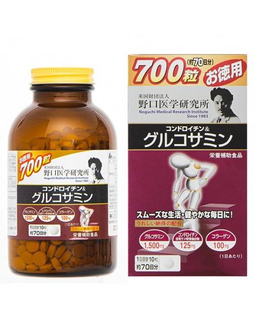 """""""Noguchi Medical """" Chondroitin & Glucosamine (700 tablets)"""