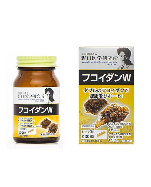 """""""Noguchi Medical""""  Fucoidan W (90 tablets)/ Фукоидан W на 30 дней"""