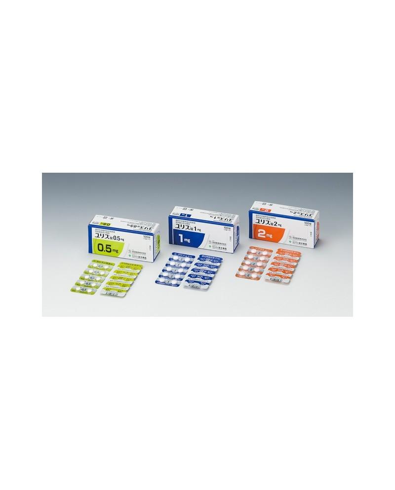 """Fuji pharma"" Urece 0.5mg x 100 Tab"
