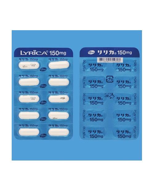LYRICA Capsules 150mg x 100 Tab