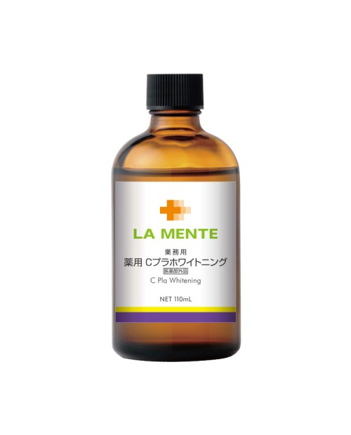 La Mente medicated C Pla whitening 110ml