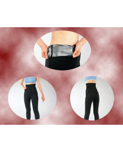 CANIT Silver -Titan spats 10/4 -Серебро-титан бриджи для коррекции фигуры длина 10/4