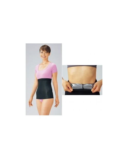 CANIT Silver-Titan waist shaper - пояс для похудения без застежки