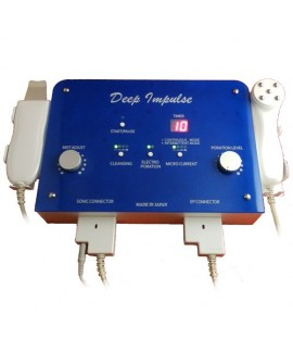 Deep Impulse- ultrasonic cleaning, electroporation, microcurrents, ion injection